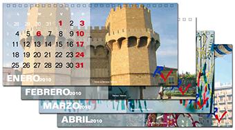 Calendario tipo barraca